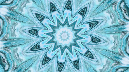 contemplative : Abstract motion graphics background. Hypnotic mandala for meditation. Kaleidoscope stage visual effect for concert, music video, show, exhibition, LED screens and projection mapping.
