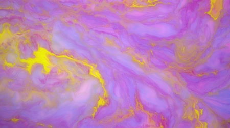 ebruli : Stains of color ink on the water. Abstract background footage.