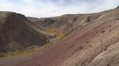 steppa : Martian landscape in the mountains of Alyai region, Siberia.