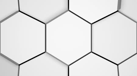 раскол : White surface broken into cells. CGI abstract transition, background.
