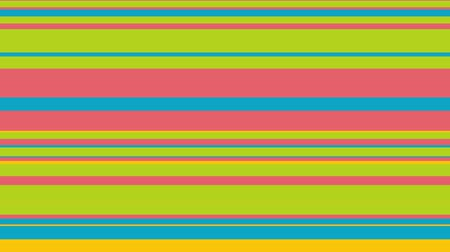 sekans : Colorful stripes sequence pattern, 4k. Abstract multicolored motion graphics background. For banners, shows, animation.