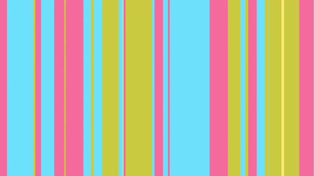 dizi : Colorful stripes sequence pattern, 4k. Abstract multicolored motion graphics background. For clubs, shows, animation.