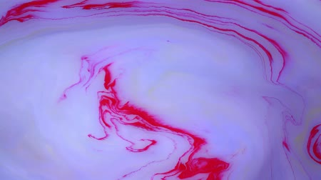 marmorizado : Abstract paint ink in motion. Psychedelic background footage. Colorful spots.