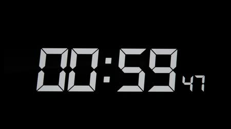 minuto : Digital clock timer and alarm for wake up.