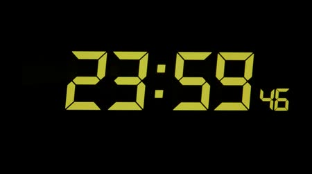 contagem regressiva : Digital clock timer and alarm for wake up.