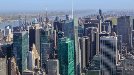 panorâmico : The New York City skyline