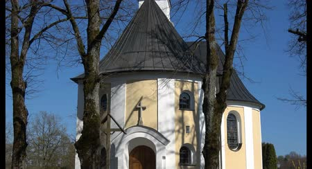germania : Chiesa in Schoellnstein, Baviera Germania