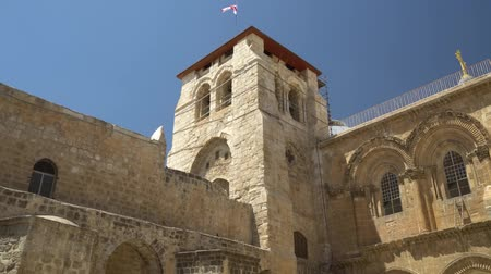 sepulcher : Vew on the Holy Sepulcher in Old City of Jerusalem, Israel