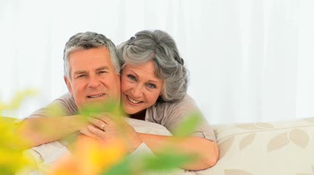 pojistka : Smiling mature couple