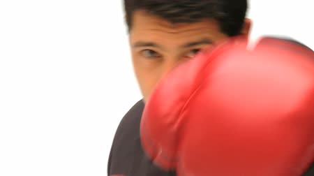 spite : Man boxing the camera