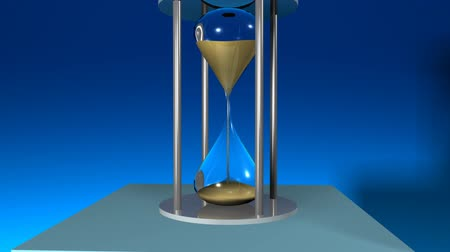 hora : 3d Hour Glass showing passing time