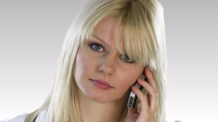 telefones : Attractive Caucasian Businesswoman talking on the phone
