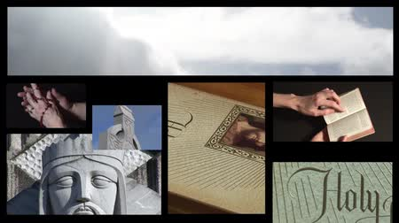 hristiyanlık : Collage of Religious footage 6