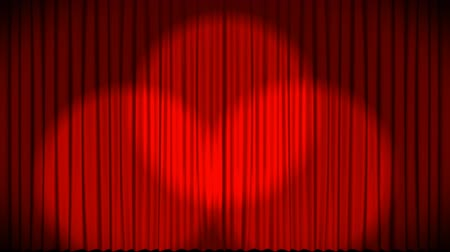 perdeler : High Definition Animation of Curtains at a theatre 2