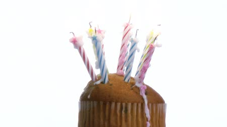 cakes : Birthday Candles on a cake