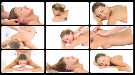 терапия : Montage presenting Relaxing spa treatments in HD