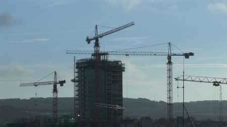 montáž : Stock Footage of  a Time Lapse of a Construction Site Dostupné videozáznamy
