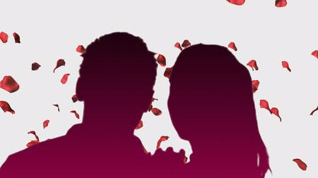 valentin nap : Romantic Couple with animated background 3