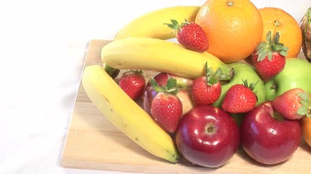 delicious : Stock Video shot of Fruit in a Studio