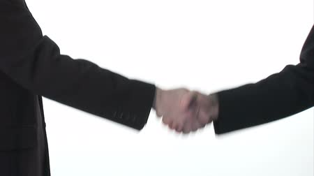 рукопожатие : Ttwo businessmen shaking hands