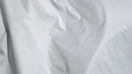 сушка : White sheet in a super slow motion moving