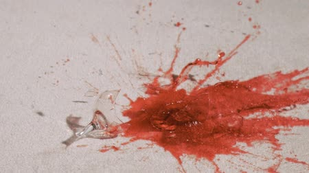 halı : Red wine in super slow motion breaking on the floor