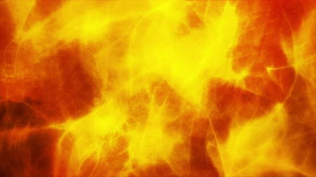orange background : Abstract red and yellow background digital animation Stock Footage