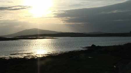 sen : A view of the Connemara Countryside from the shore of a lake