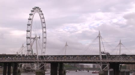 büyük britanya : London City in the United Kingdom 5 Stok Video