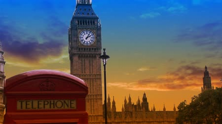 İngilizce : A Composite image of Big Ben In London