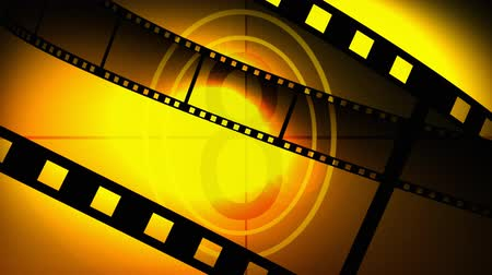 tiras : 3d film reel in High Definition Stock Footage
