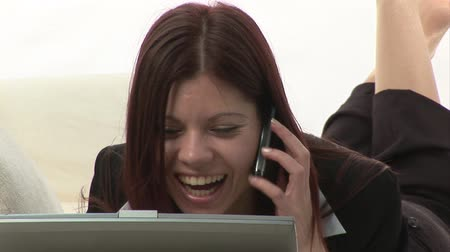kanapa : Stock Video Footage of a Businesswoman Working Wideo
