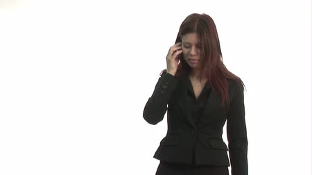 kalhoty : Stock Video Footage of a Stressed Businesswoman