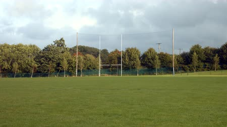 zift : View of a rugby pitch in the day