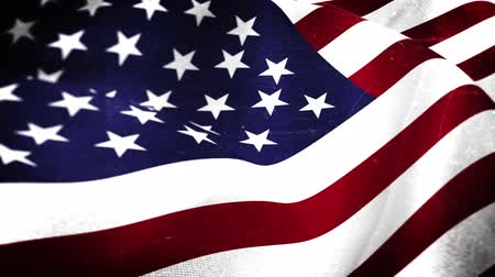 bandeira : Digital animation of American flag blowing