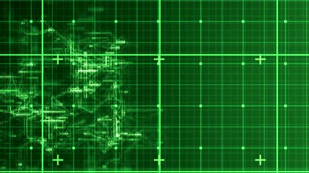 kódolás : Digital animation of green matrix