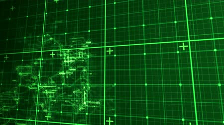 matris : Digital animation of green matrix