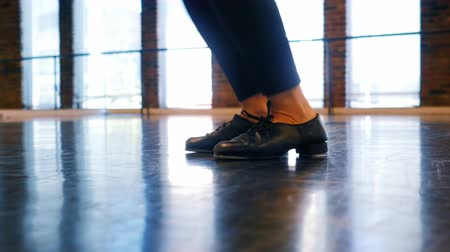 gracioso : Ballerina practicing in dance studio