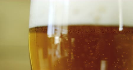 fizzing : head of a beer pint for st patricks high quality