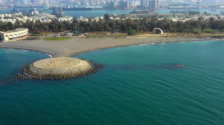 litoral : Aerial View Of The Beach In Qijin Kaohsiung - Taiwan