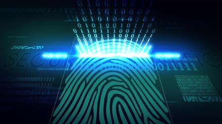 emberi ujj : The system of fingerprint scanning - biometric security devices