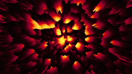 madde : Abstract red-hot magma lava background, infernal hell backdrop, dark matter, halloween