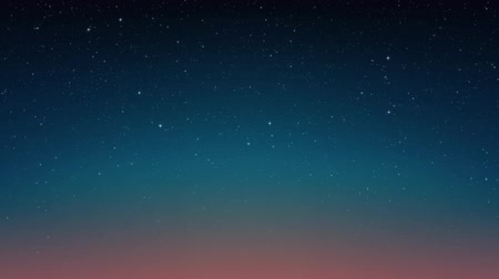 Night shining stars, cosmos. Animated space background. Seamless loop Stock mozgókép