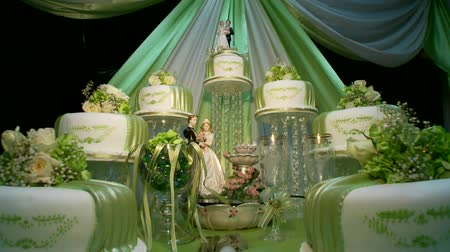 wedding cake : Wedding Cake with nice decoration