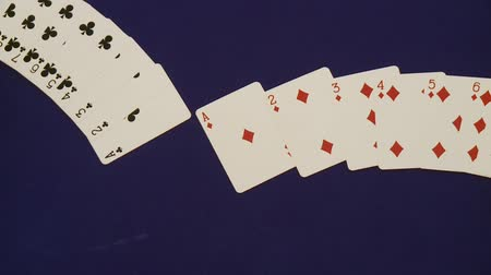 trik : Card trick in a casino