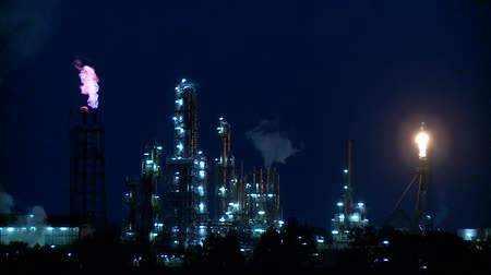 дымоход : Industry at night