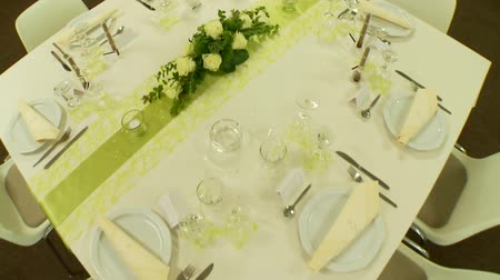cor de malva : Table setting