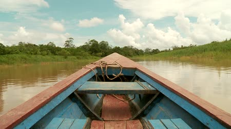 kano : Shipping On Amazon River, Southamerica. Peru