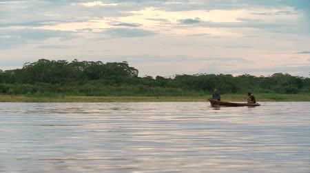 amazonka : Shipping On Amazon River, Southamerica. Peru