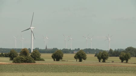 authorities : video footage of a wind turbines